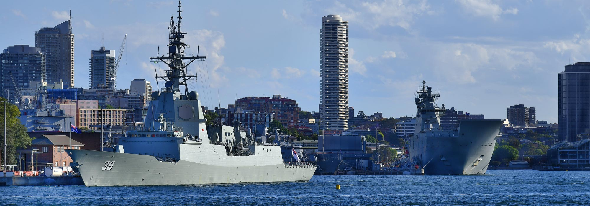Australian Navy seized illegal drugs