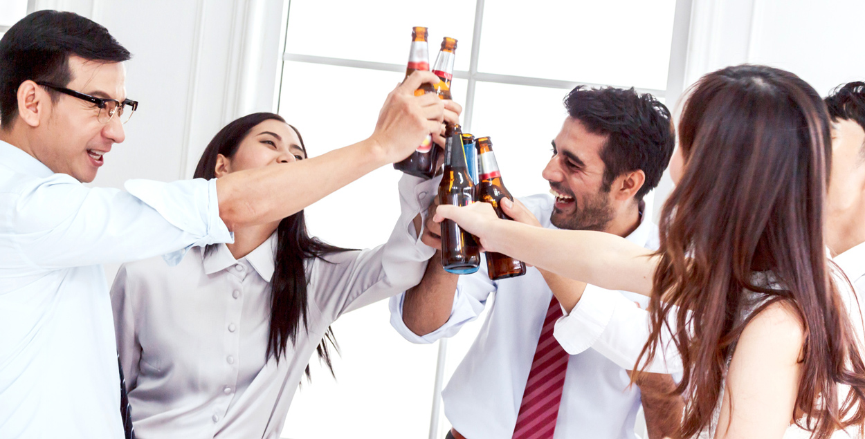 safe levels of alcohol at work