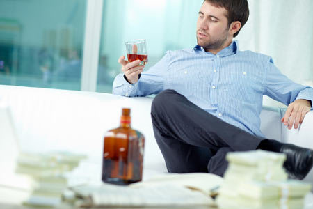white collar ceo alcohol abuse
