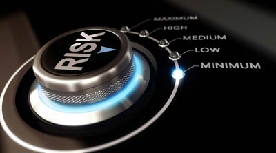 risk selector set to minimum